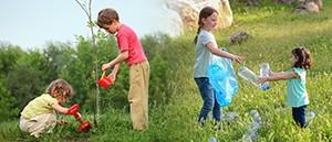 Spojení sil pro spolupráci: uklidit na jaře a na podzim vysázet stromy