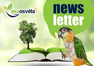 """Newsletter: Pořádáme soutěž """"Máme rádi zvířata a stromy"""""""
