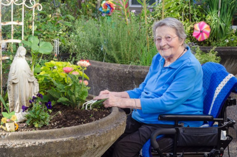 Tisková zpráva o projektu: Zahradní terapie