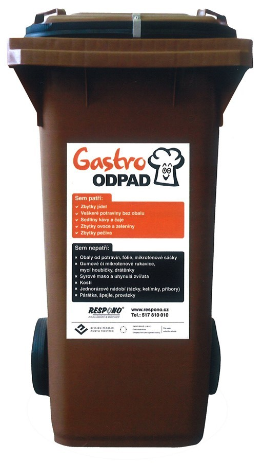 Šumperk ode dneška rozšiřuje počet nádob na gastroodpad, lidé vytřídili už 21 tun