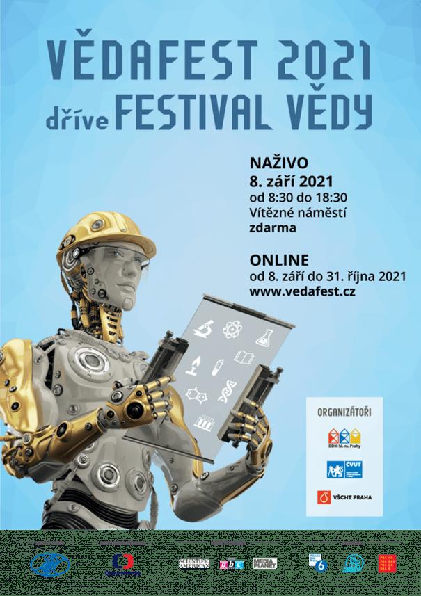 V Praze dnes bude VědaFest, zaměří se na digitální technologie