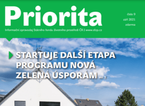 Vyšlo nové číslo informačního zpravodaje SfŽP – PRIORITA